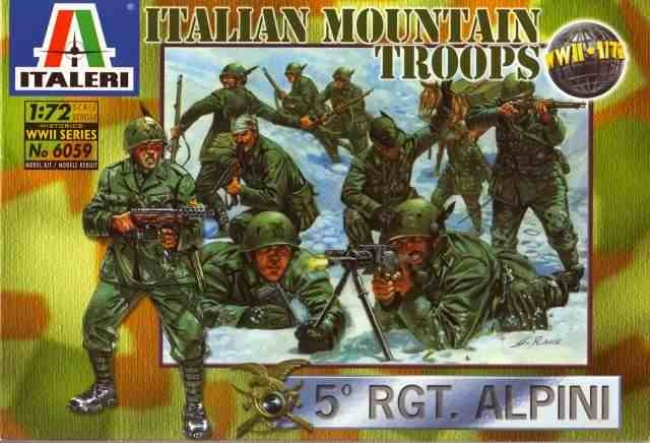 Italian mountain troops