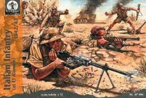Italian infantry at El Alamein